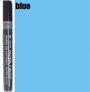 STA Acrylic Marker- Blue 2-3 mm