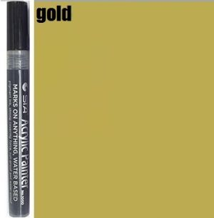 STA Acrylic Marker- Gold 2-3 mm