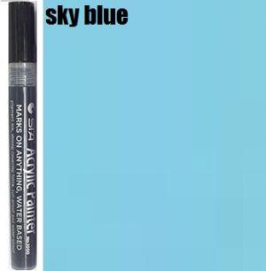STA Acrylic Marker-Sky Blue 2-3mm
