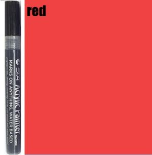 STA Acrylic Marker- Red 2-3 mm