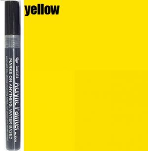STA Acrylic Marker- Yellow 2-3 mm