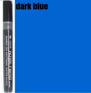STA Acrylic Marker- Dark Blue 2-3 mm