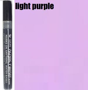 STA Acrylic Marker- Light Purple 2-3 mm