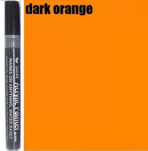 STA Acrylic Marker- Dark Orange 2-3 mm